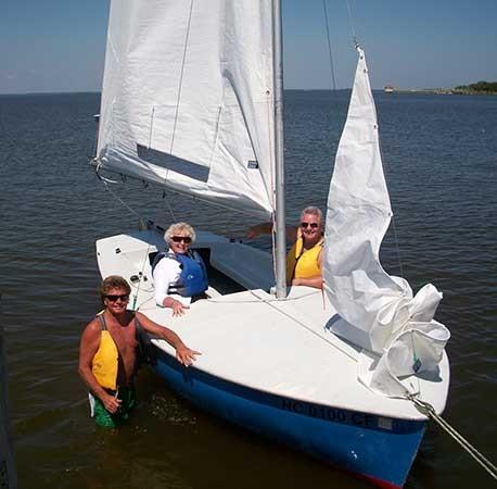 Private Sailing Instruction Norbanks Sailing Watersports Rentals