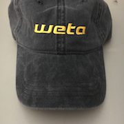 Weta Cap - Black with Yellow Logo