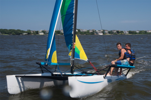 Sailing - Nor'Banks Sailing & Watersports Rentals