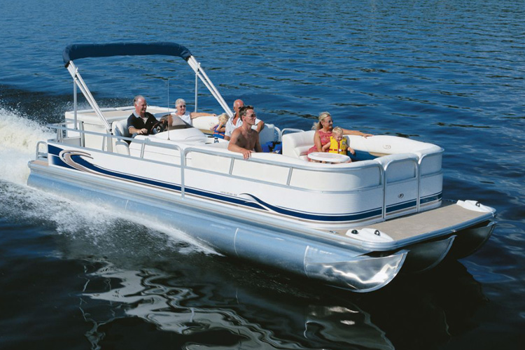 classic 12 person pontoon