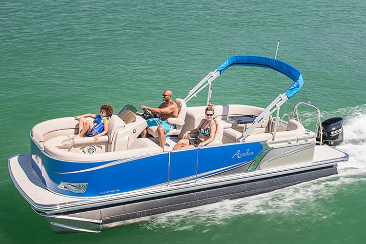 pontoon 10 passenger avalon-gs